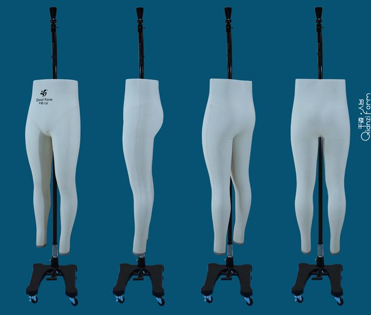 七匹狼裤装打版人台